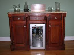 bar cabinets for home showy wine fridge home furniture ideas with wine refrigerator