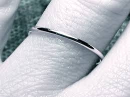 most comfortable wedding band wedding rings thin wedding band platinum most comfortable men s