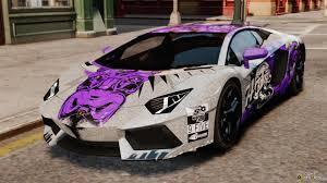 lamborghini aventador purple aventador lp700 4 2012 galag gumball 3000 epm for gta 4