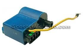 199055d electric coil ignition cdi ducati blue vespa