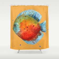 Chemistry Shower Curtains Society6 Cheap Tropical Fish Shower Curtain Find Tropical Fish Shower
