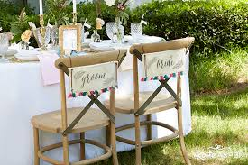and groom chair signs 5 wedding signs to add style to your big day kate aspen
