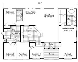 the hacienda vr41604a manufactured home floor plan or modular