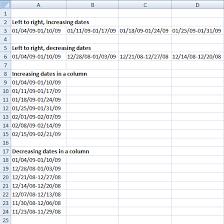 create a date range formula