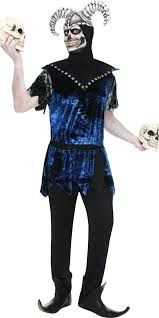 Halloween Jester Costume Men U0027s Halloween Corrupt Court Jester Fancy Dress Costume