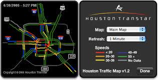 traffic map houston dashboardwidgets showcase