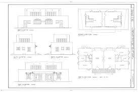 two story apartment floor plans file heilman villas two story apartments 712 714 orange avenue