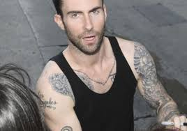 25 adam levine tattoos creativefan