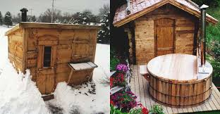 21 inexpensive diy sauna and wood burning tub design ideas