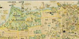Map Of Greater San Francisco Area by 1927 Cartoon Map Of Sf Is Awesome And Adorable U2014 The Bold Italic