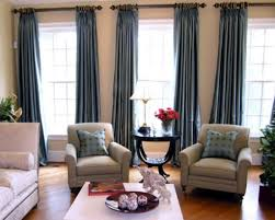 delectable design ideas of curtain styles for living room with