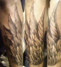memorial quotes for wing tattoos on arms the letter