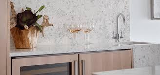 Quartz Countertops With Backsplash - application q4009 kolams quartz kitchen bar countertop