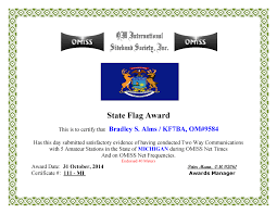 Mi Flag Omiss U2013 State Flags U2013 Kf7ba