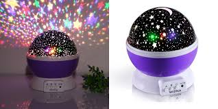 Rotating Night Light Projector Rotating Galaxy Night Light Projector Just 14 99 Shipped