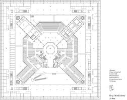 Tv Studio Floor Plan by King Fahad National Library In Riyadh Kingdom Of Saudi Arabia