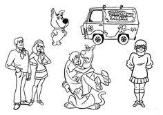 scooby doo printable coloring pages print and color this scooby doo coloring page kids pinterest