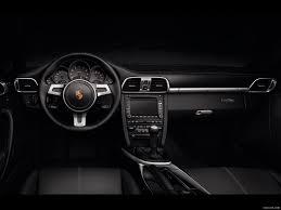 Porsche 911 Interior - porsche 911 black edition 2011 interior wallpaper 8