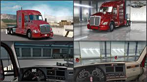 kenworth truck interior kenworth t680 interior exterior rework v1 1 v1 4 x american