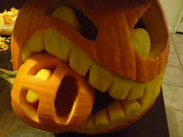 Small Pumpkins Cannibalistic Pumpkin Carving Tutorial