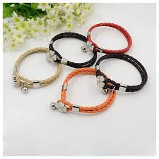 braided leather cord bracelet images Wholesale multi strand braided leather cord bracelets trendy JPG
