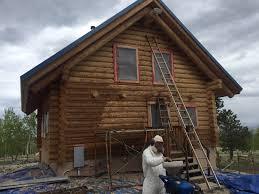 restore log cabin homes ward log homes