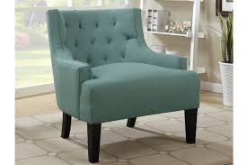 Blue And White Accent Chair by Chair Aaron Reclining Fabric Accent Chair Copper The Brick Chairs
