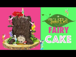 tinkerbell fairy cake how to make a tree stump cake with tinker