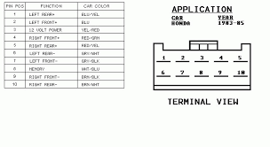 2001 honda cr v radio wiring diagram wiring diagrams