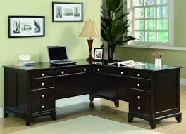 How To Measure L Shaped Desk Furniture Home Office Furniture With L Shaped Desk Design
