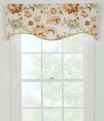 Jacobean Floral Curtains Jacobean Floral Lined Rod Pocket Curtains Pair Look For It