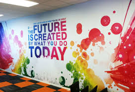 permamatte wall graphics brandex permamatte the future is created by what you do today