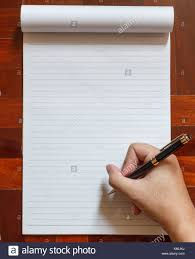 blank paper to write on write on notebook blank white page with pen wooden floor in