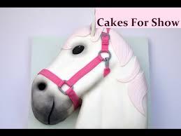 making a horse head cake youtube