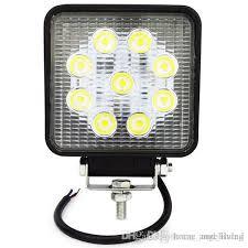 work light mounting bracket 27w led spot driving fog light led work light bar mounting bracket