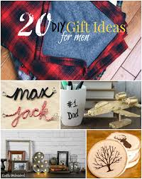 diy gifts for men and quick buy ideas craftsunleashed