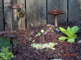 Gazing Balls Garden Stitches And Etc Want A Peek At My Fairy Garden