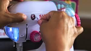 singer elegant chainstitch sewing machine a2214 threading