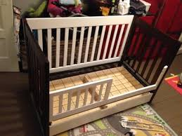 Mercer 3 In 1 Convertible Crib Gently Used Babyletto Mercer 3 In 1 Convertible With Toddler Rail