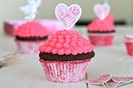 chocolate cupcakes with pink vanilla icing u2013 i adore food