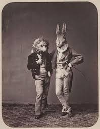 vintage masks 15 vintage portrait photos with creepy animal masks