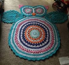 Crochet Owl Rug Owl Crochet Rug Pattern All The Cutest Ideas Doily Rug Crochet