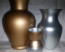 Trio Vases Trio Of Vases Etsy