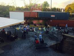 now open railgarten diner tiki bar ice cream parlor ping pong