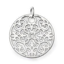 sabo glam soul sterling silver pendant pearls sterling