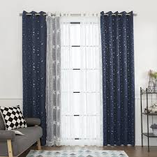Sheer Metallic Curtains Umixm Sheer Metallic Curtains