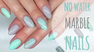 no water marble nails gel polish manicure hybrydowy chiodo