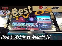 tizen vs android samsung tizen vs sony android vs firefox os vs lg webos 2 0