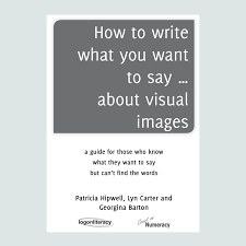 how to write what you want to say about visual images logonliteracy