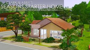 Starter Homes by My Sims 3 Blog Clark U0026 Abby U0027s Seasons Starter Home By Salvi